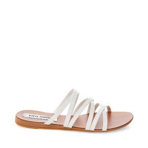 STEVE MADDEN Cross Strap Slide Sandals